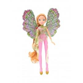 Winx Wow Dreamix con Ali Removibili, Bambola Flora di Giochi Preziosi  WNX32000