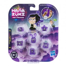 Hanazuki Treasure Six Pack Purple Coraggio di Hasbro  B8053 B8451