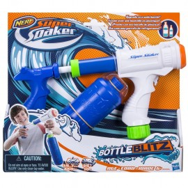 Nerf - Supersoaker Bottle Blitz pistola spara acqua