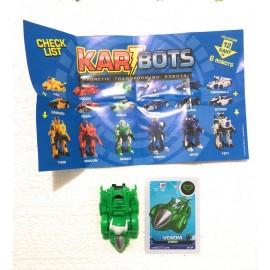 Kart Bots Kartbots Kar Tbots Trasforming Robots (Kartbots Axe ) L'ORIGINALE