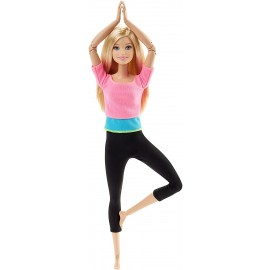 Barbie Snodata - 22 Punti Snodabili per Infiniti Movimenti di Mattel DHL82