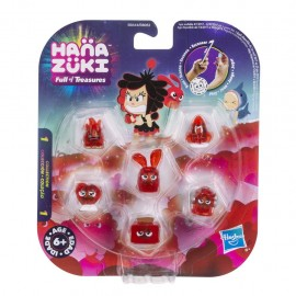 Hanazuki Treasure Six Pack Red Esuberante di Hasbro  B8053 B8444