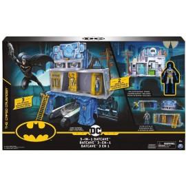 BATMAN Playset Batcaverna 3 In 1 di Spin Master 6058292