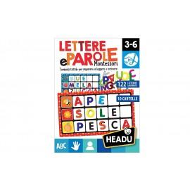 Headu Lettere e Parole Montessori, HEADU IT20522