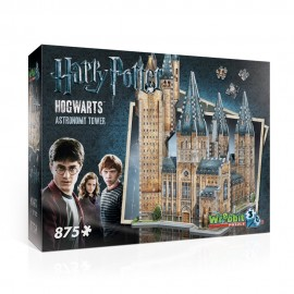 Harry Potter Puzzle 3D, Hogwarts Astronomy Tower, 875 Pezzi di Wrebbit W3D-2015