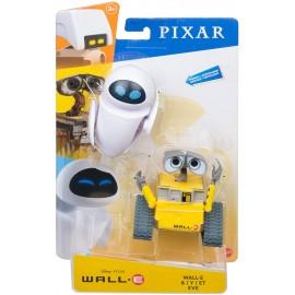 Disney Pixar- Personaggi Wall-E e Eve, Snodati,  Mattel GLX80-GLX86