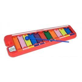 Bontempi XL 1152.2 - Xilofono 11 Piastrine/Note, Colorate