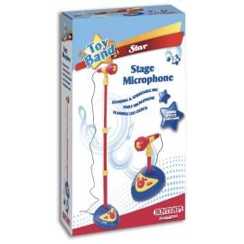 Bontempi 40 1220 Microfono da Palco con Asta Regolabile in Altezza