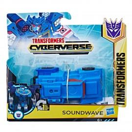 Transformers Cyberverse 1-Step  Soundwave di Hasbro E3524-E3522