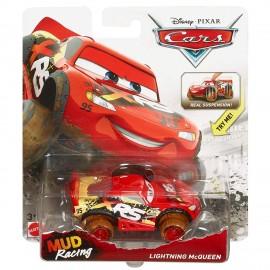 Disney Cars XRS Mud Racing Saetta McQueen, Veicolo Muddy Die-cast, Mattel GBJ36