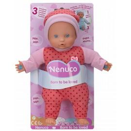 Nenuco - Bambola 3 Funzioni nuovo modello con pigiama colore rosa (Famosa 700013382)