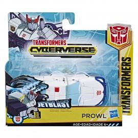 Transformers Cyberverse Prowl Jetblast 1-Step di Hasbro E3647-E3522