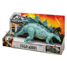Jurassic World Azione e Attacco -  dinosauro Stegosaurus di Mattel FMW88