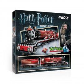 Puzzle treno 3D Harry Potter, Hogwarts Express, 460 Pezzi di Wrebbit W3D-1009