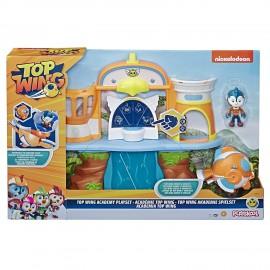 Top Wing - L'Accademia di Top Wing (Playset con Personaggio e Veicolo) E5613 Hasbro