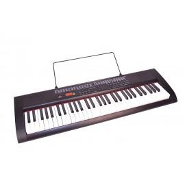 Bontempi 6120 - Tastiera con tasti luminosi con lettore mp3