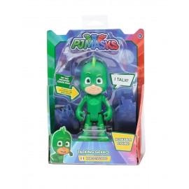 Super Pigiamini Pj Masks Personaggio Parlante 15 cm, Geco di Giochi Preziosi PJM04001