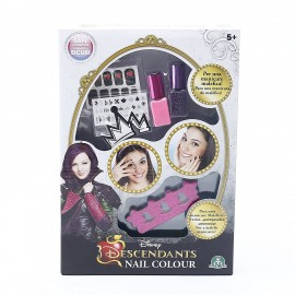 Giochi Preziosi - Descendants Set per Unghie Nail Color con Smalti ed Accessori Inclusi