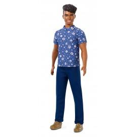 Ken Fashionistas Afroamericano con Camicia Floreale, Barbie Mattel  FXL61