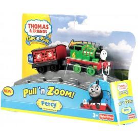 Il trenino Thomas, Percy con vagone retrattile, Fisher Price W6269-W6267