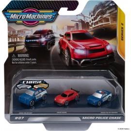 Micro Machines - Police Suv 0101 , Azumi 0102 , Police cruiser 0103