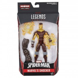 Amazing Spider-Man Legends Action Figure: Shocker di Hasbro C0030-A6655