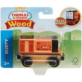 Il Trenino Thomas - Locomotiva Rusty - Treno in Legno di Mattel FHM35