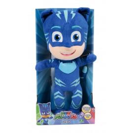 Super Pigiamini Pj Masks Peluche con Luci e Musica, Gattoboy di Giochi Preziosi PJM12000