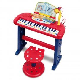 NEW BONTEMPI  Speak & Play Electronic Organ 3650.2 / GB - ENGLISH LANGUAGE