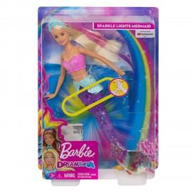 Barbie Dreamtopia Sirena con movimento e luci, Mattel GFL82