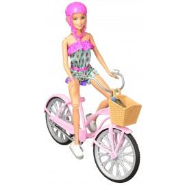 Barbie con bicicletta di Mattel  FTV96