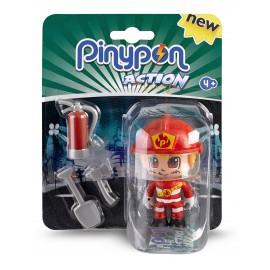 Pinypon Action – Figura Pompiere di Famosa PNC00000