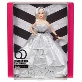 Barbie Edizione Speciale 60° Anniversario, Bambola da Collezione, Mattel FXD88