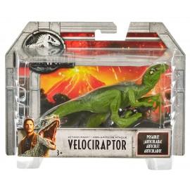 Jurassic World Dinosauro Velociraptor Attacco Giurassico di Mattel FPF13
