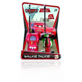 IMC 250291 - Cars 2, Walkie-talkie di Francesco e Saetta Mc Queen