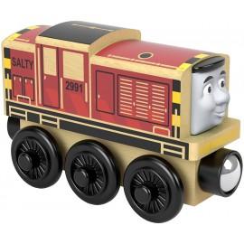 Trenino Thomas Locomotiva in Legno Salty di Fisher-Price FHM26