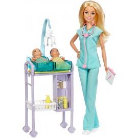Barbie Playset Pediatra, Mattel DVG10-DHB63