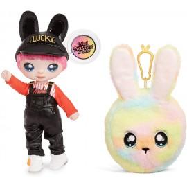 Na! Na! Na! Surprise 2-in-1 Fashion Doll And Plush Purse Series 3 – Jeremy Hops ( coniglio) Giochi Preziosi NAA08000