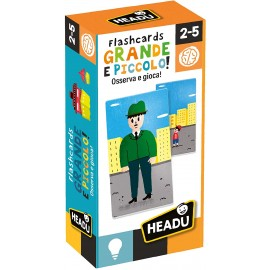 Flashcards Grande e Piccolo, Headu  IT23806