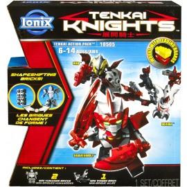 Ionix Tenkai Knights Action Pack 10505 (Bravenwolf/Rho/Deviak) di Spin Master