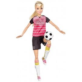 Barbie Sport Calciatrice, Mattel DVF69-DVF68