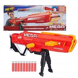 Nerf E04 Mega Thunderhawk Combat Blaster si allunga fino a 1MT - novità spara fino a 30 MT
