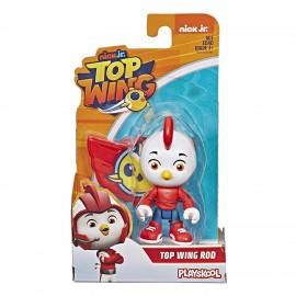 Top Wing: personaggio Rod 7,5 cm con distintivo di Hasbro E5283