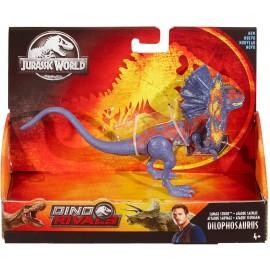 Jurassic World - Dino Rivals Dilophosaurus Figurina Articolata Dinosauro, GFG69