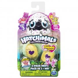 Hatchimals Collezionabili, 3 serie, Confezione da 2 Uova + Nido di Spin Master 6041332