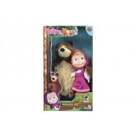 Orso 43 cm e  Masha 23 cm di Simba 109301016009