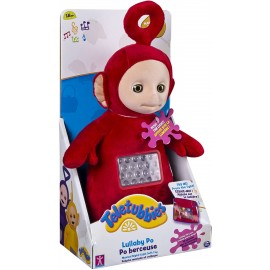 Teletubbies- Peluche Lullaby Po, 10 Pollici, Colore: Rosso