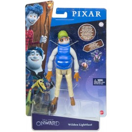 Disney Pixar Onward Papà Wilden Lightfoot, Personaggio Articolato, Mattel GMP59