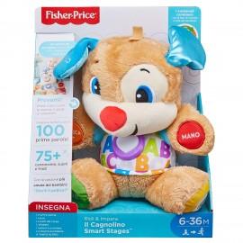 Fisher-Price Il Cagnolino Smart Stages Ridi e Impara, Mattel FPM51