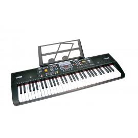 Bontempi 6115 - Tastiera digitale 61 tasti; 40 suoni; Polifonia 8 note; 100 Ritmi con Arranger e gestione facilitata degli accordi